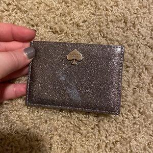 Kate Spade Silver Card Holder